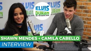 Shawn Mendes & Camila Cabello - I Know What You Did Last Summer Interview | Elvis Duran Show