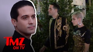 G-Eazy And Halsey Wear Matching Outfits Out On The Town | TMZ TV