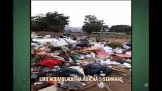 Moradores de Contagem denunciam lixo acumulado em rua h� duas semanas