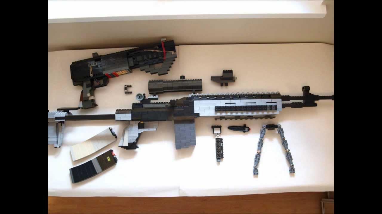 *LEGO & Mega Bloks M14 EBR* - YouTube M14_ebr