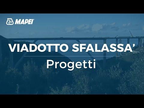 Mapei -  Viadotto Sfalassa - recupero calcestruzzo