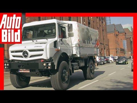 Mercedes Unimog (2014) - Fahrbericht in der Innenstadt