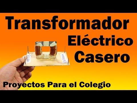 Proyectos | Transformador Eléctrico Casero (Muy fácil de hacer)