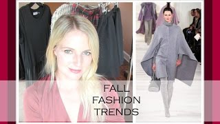 FALL/WINTER FASHION TRENDS 2014