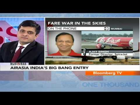 In Business- AirAsia India's Big Bang Entry