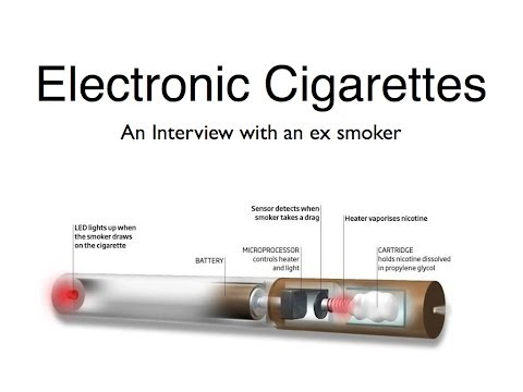 Electronic Cigarettes - An interview with an Ex Smoker