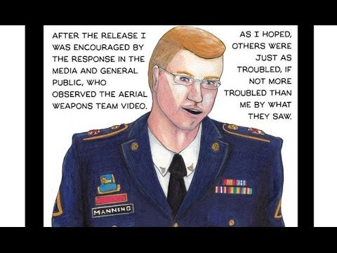 U.S. vs. Private Chelsea Manning: A Graphic Account from Inside the Courtroom