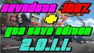 !!!REGALO!! SAVEDATA 100%+GTA V SAVE EDITOR 2.0.1.2-2.0.1