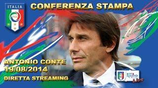 Conferenza stampa presentazione Antonio Conte - 19 agosto 2014