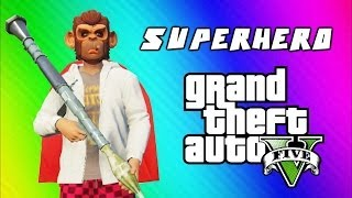 GTA 5 Superhero Tryouts & Online Funny Moments (NEXT