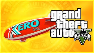 GTA 5 PS4 Gameplay: New Exclusive Blimp In First Person