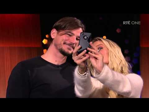Josh Hartnett takes a selfie with a fan on live TV | The Late Late Show