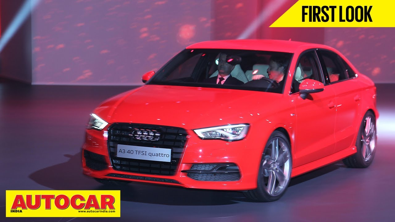 Audi A3 Sedan First Drive Review Autocar India Youtube