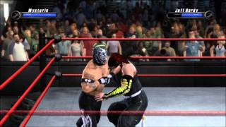 Smackdown Vs Raw 2008 Rey Mysterio Vs Jeff Hardy
