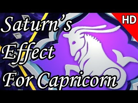 Saturn's Effect 2014 For Capricorn In Hindi | Prakash Astrologer