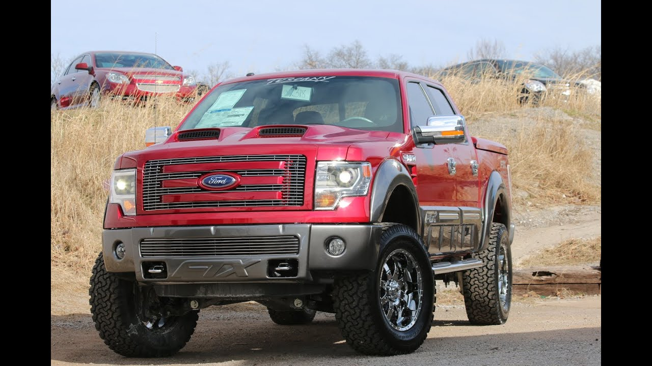 2014 F150 FTX by Tuscany Ruby Red - Ford of Mufreesboro - YouTube