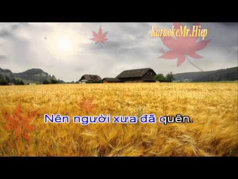 [KARAOKE] Co Hang Xom - Quang Le Beat