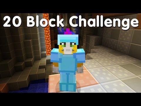 Minecraft PS4 - 20 Block Challenge - A Big Cave! (9)