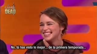 Matt LeBlanc cumplió el deseo de Emilia Clarke y le preguntó