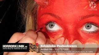 Schminken Zu Halloween: Teuflisches Frauen Make-up Leicht