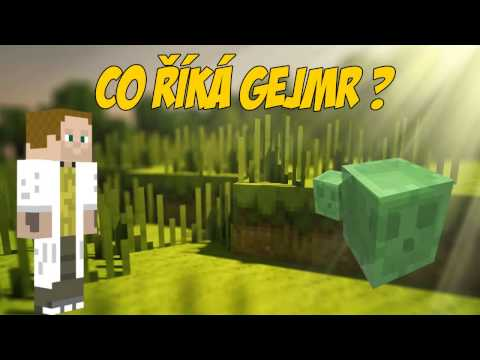 ♪  'Co říká GEJMR'   A Minecraft Parody of What Does The Fox Say