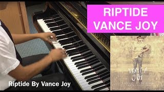 ♫ 'Riptide' By 'Vance Joy' Piano Cover ♫ + 'Sheet