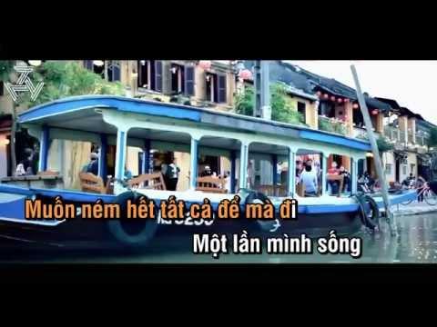 [Karaoke] Đưa Nhau Đi Trốn-Đen ft  Linh Cáo