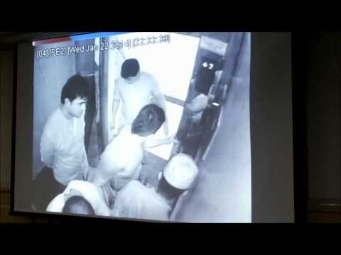 CCTV footage of Vhong Navarro and his alleged attackers