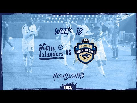 VIDEO: Watch Ropapa Mensah's second league goal for Harrisburg City Islanders