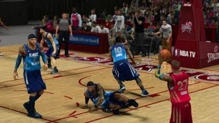 NBA 2K13 My Career All Star Game