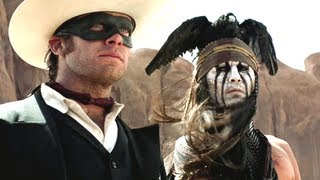 The Lone Ranger Trailer 2013 Johnny Depp Movie Official