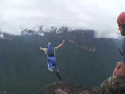 BASE JUMPING - APEX BASE - ANGEL FALLS VENEZUELA