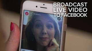 CNET-Stream Facebook live video like a superstar