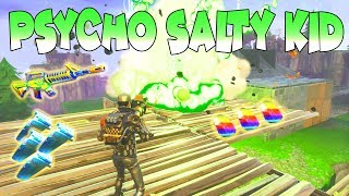 Psycho Salty Kid Loses Whole Inventory! 👀 (Scammer Gets Scammed) Fortnite Save The world