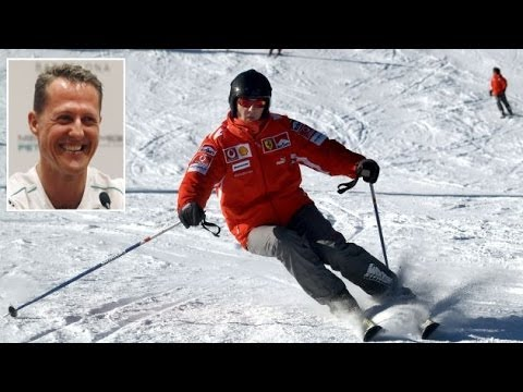 Michael Schumacher, entró en estado de coma, después de un accidente de esquí en los Alpes