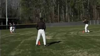 P01 Baseball Training Drills: Infield Box Drill