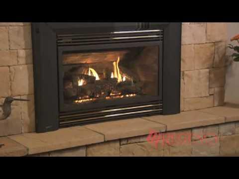 Regency Energy E33 Gas Fireplace Insert Youtube