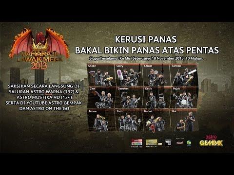 Maharaja Lawak Mega 2013 - Kerusi Panas