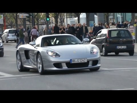 Supercar Sounds in Hamburg 7 - Carrera GT, McLaren, 599