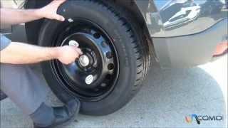 Cambiar la rueda del coche