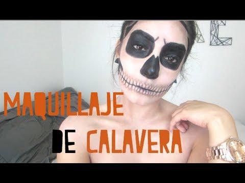 HALLOWEEN - MAQUILLAJE DE CALAVERA!
