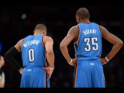 Kevin Durant and Russell Westbrook Stop the Spurs' Win Streak at 19