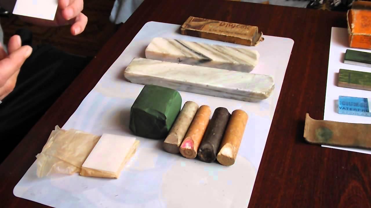 какие натуральные камни используются для заточки