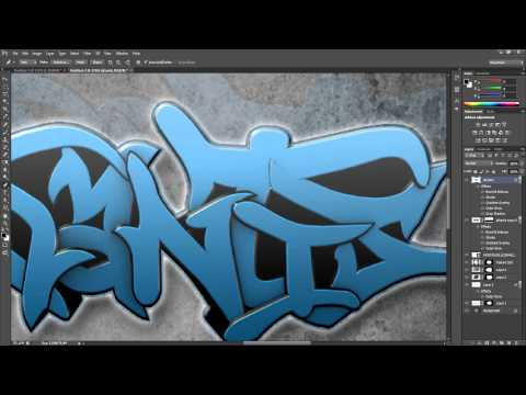 Atlantis | Speedart Graffiti Photoshop CS6 HD