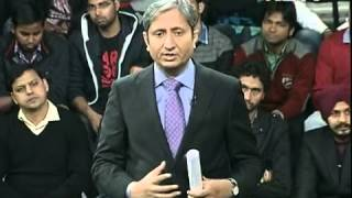 Rakhi Birla in Hum Log with Ravish kumar (Courtesy: NDTV India)