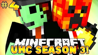 "Minecraft UHC Season 3 ""DIAMONDS!"" #4 With Preston"