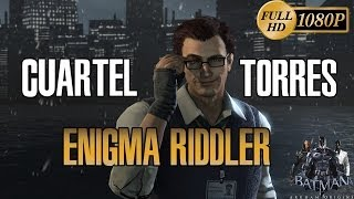 Batman Arkham Origins Enigma Riddler Cuartel, Torres