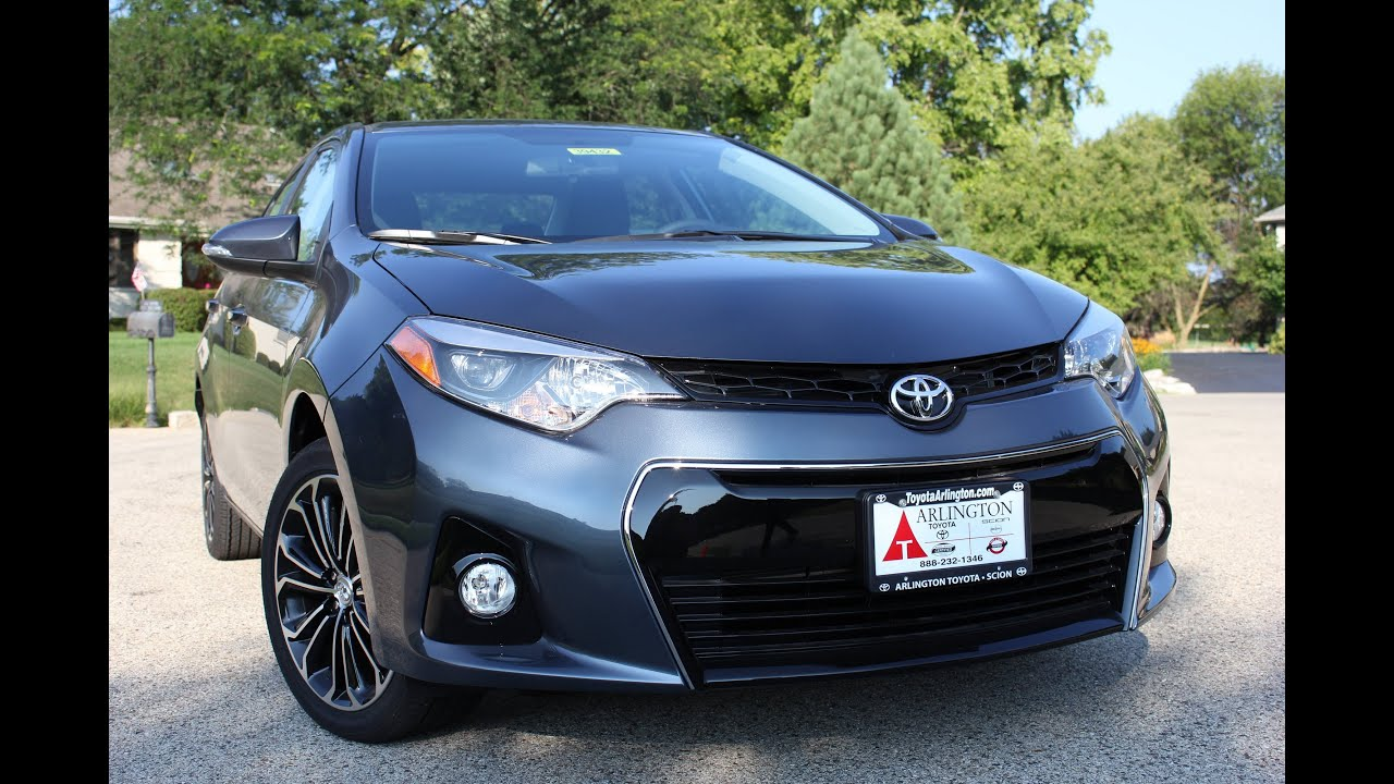 2014 toyota corolla sport edition chicago news test drive teaser youtube. Black Bedroom Furniture Sets. Home Design Ideas