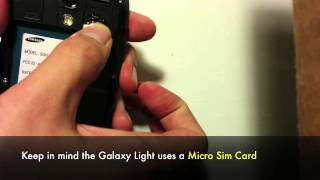 How To Unlock Samsung Galaxy Light SGH-T399 T-Mobile To