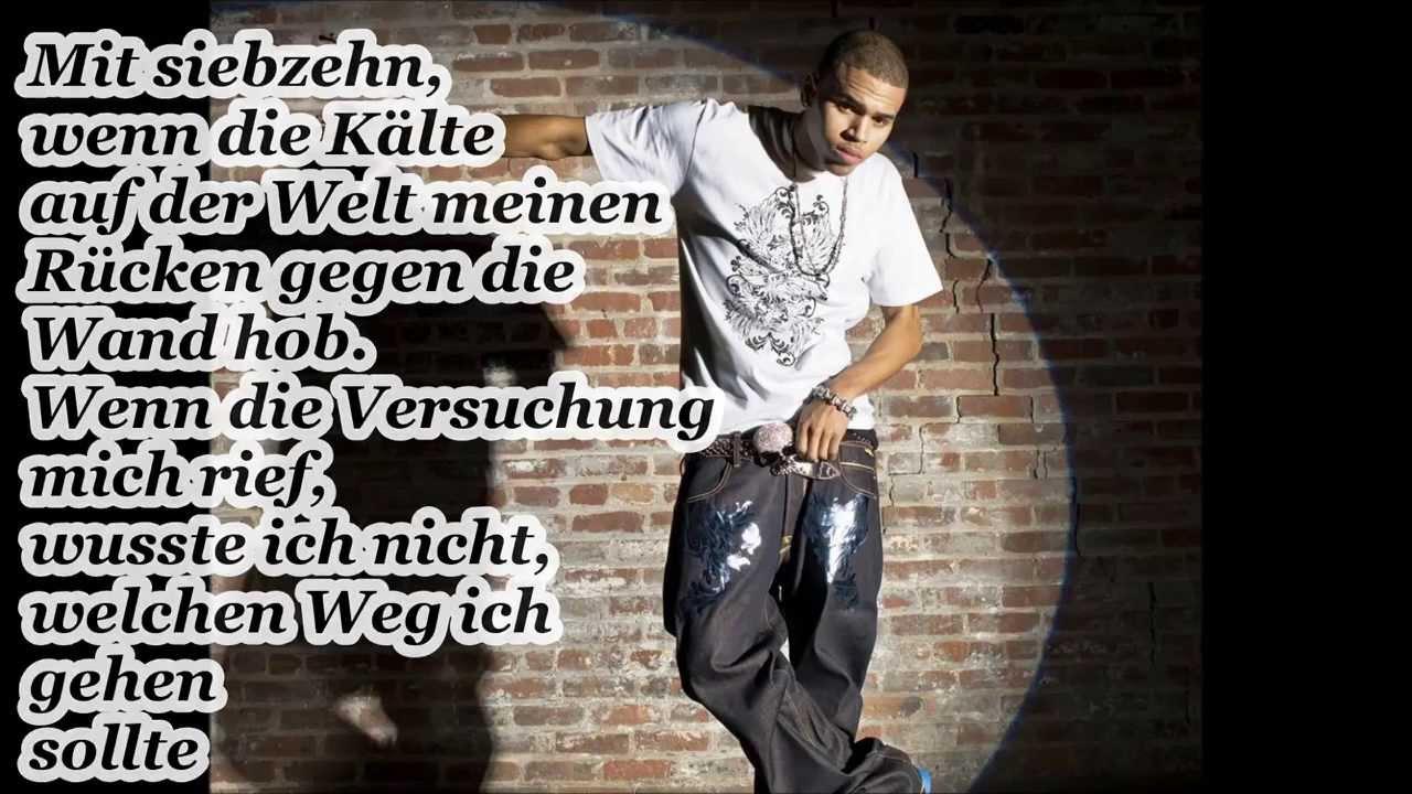 I Needed You - Chris Brown Lyrics Video - YouTube
